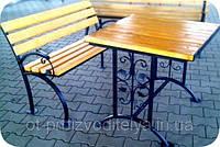 """Комплект """"Вуличний стіл з лавкою"""""""