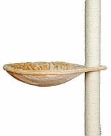 Гамак для когтеточки Trixie Hammock для кошек, бежевый, 45 см