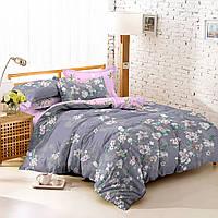 Семейный комплект постельного белья сатин (7495) TM KRISPOL Украина
