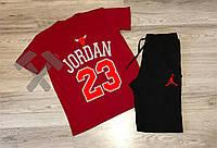 Спортивный костюм летний комплект мужской шорты и футболка Jordan 23 Джордан