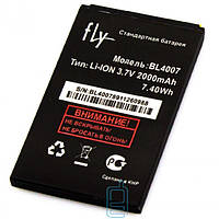 Аккумулятор Fly BL4007 2000 mAh DS123 AAAA/Original тех.пакет