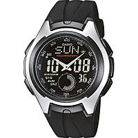 Мужские часы Casio AQ-160W-1B Касио водонепроницаемые японские часы
