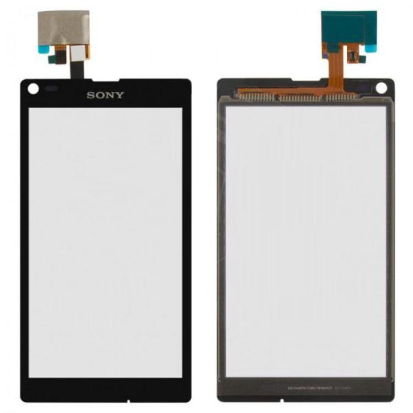 Сенсор (тачскрин) Sony C2105 Xperia L S36h черный Оригинал