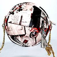Женский летний клатч Хит продаж 21*21 (принт)
