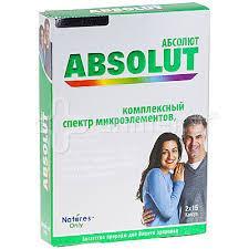 """БАД  """"Абсолют """"- являются витамино-минеральным комплексом -Забудьте о болезнях (30шт,"""
