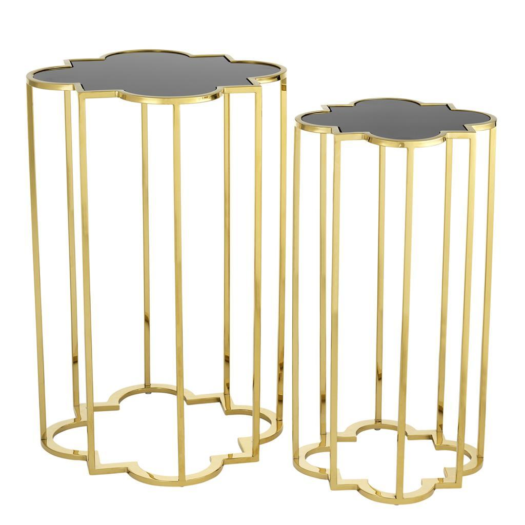 Side Table Concentric set of 2