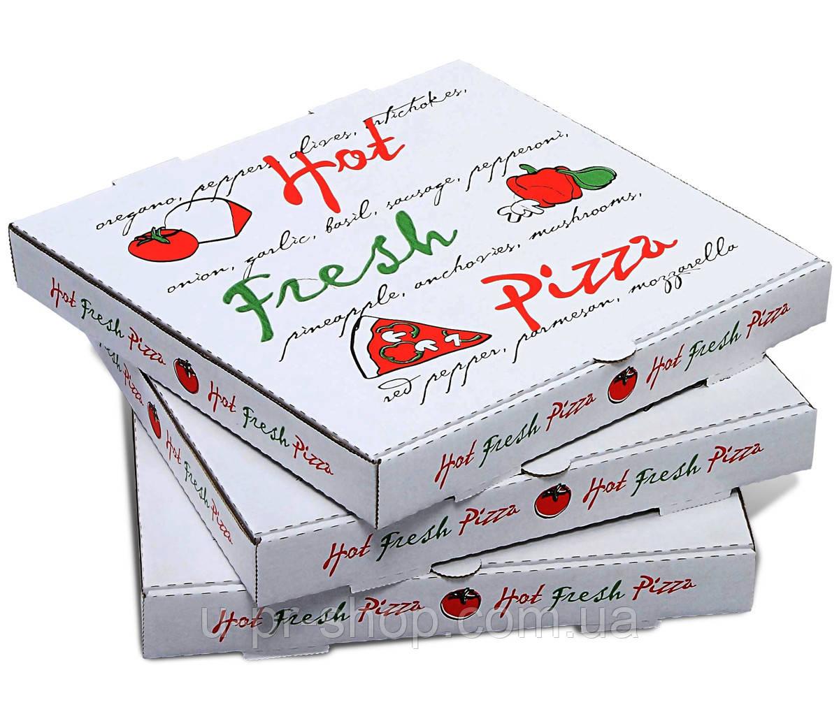 Коробка для пиццы от 500 шт