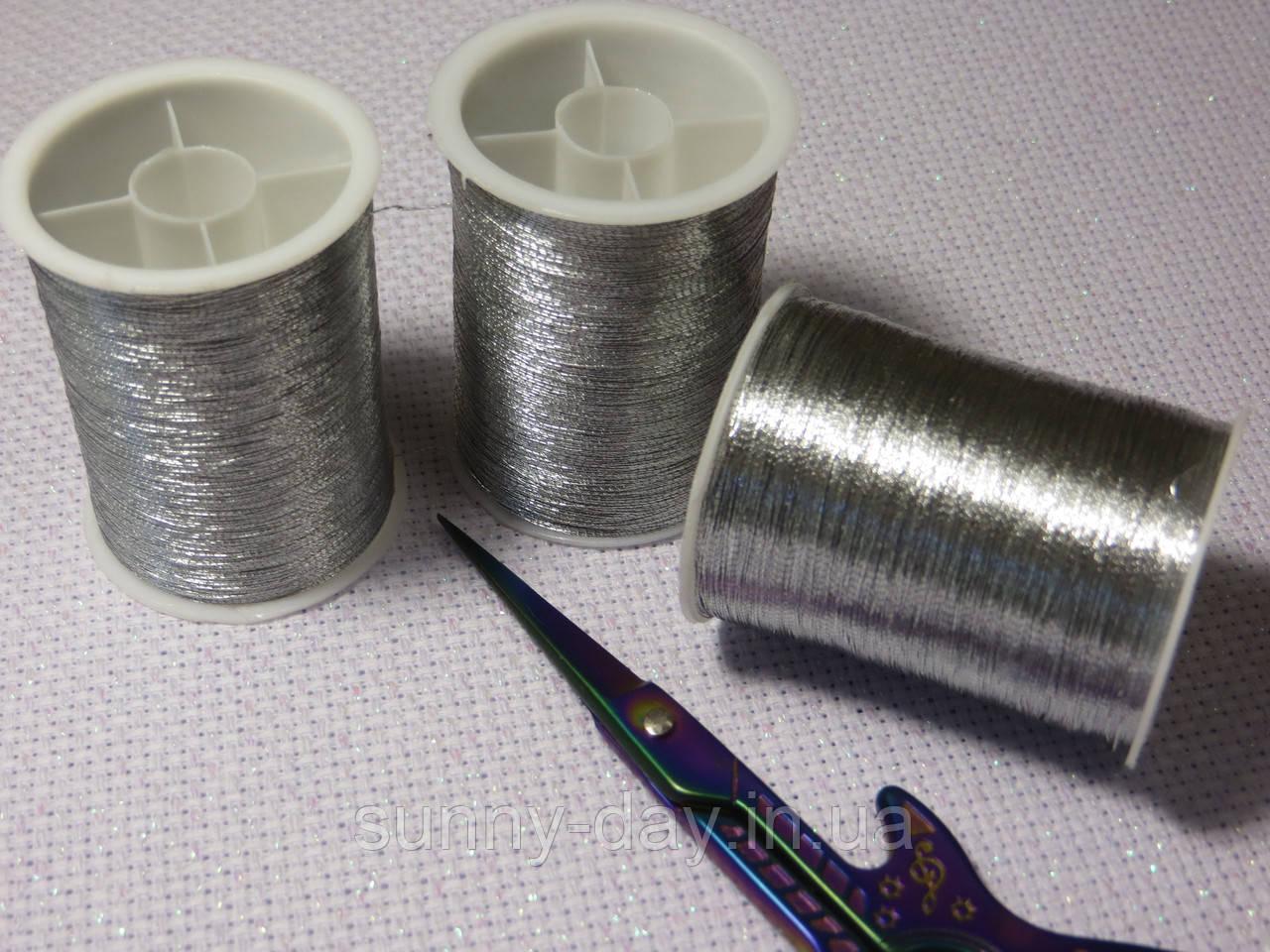 Люрекс , 200 метров, цвет - серебро
