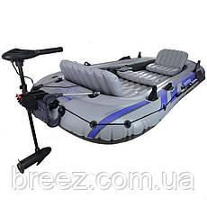 Пятиместная надувная лодка Intex 68325 Excursion 5 Set, 366 х 168 х 45 см, фото 3