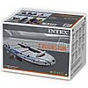 Пятиместная надувная лодка Intex 68325 Excursion 5 Set, 366 х 168 х 45 см, фото 6