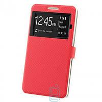 Чехол-книжка Modern с окном Samsung Grand Prime G530, J2 Prime G532, G530 Красный