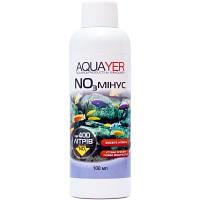 AQUAYER NO3 минус средство для снижения концентрации нитратов в аквариумной воде, 100мл
