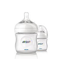 Бутылочка для кормления Natural, соска для новорожденных, 125 мл (2 шт) Avent 3930815