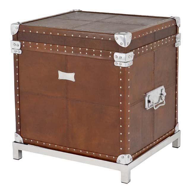 Flightcase brown Leather incl stand