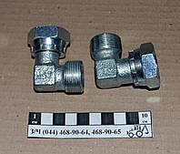 Штуцер соединительный РВД S32 уголок с гайкой (М27х1,5)