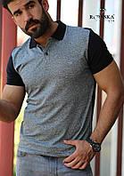Мужская рубашка - Поло короткий рукав Турция 4108