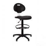 Кресло для лаборатории Лаборант LABORANT GTS RING BASE PL62 STOPKI NS