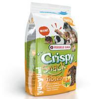 Versele-Laga Crispy Snack Fibres ВЕРСЕЛЕ-ЛАГА КРИСПИ СНЕК ФИБРЕС зерновая смесь лакомство для грызунов, гранулы с овощами
