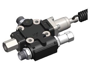 Гідравлічний розподільний клапан OMFB FM-40