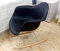 Кресло-качалка  Лаунж Dom, цвет черный