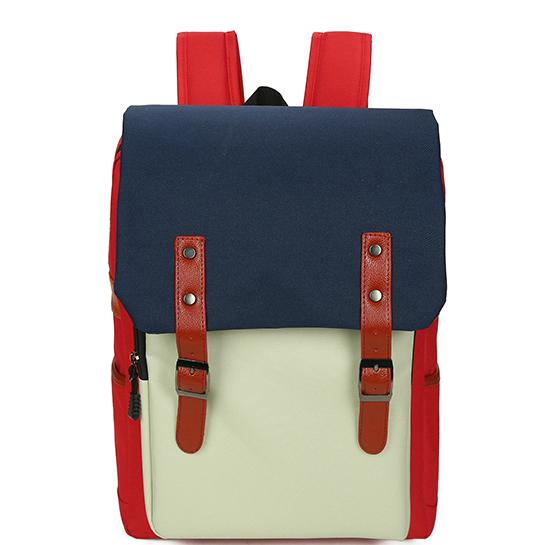 Рюкзак молодежный трехцветный