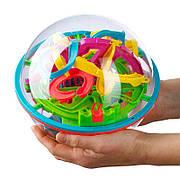"""Детская игрушка-головоломка 3D шар-лабиринт """"Перплексус"""" 100 шагов 12 см."""