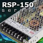 RSP-150 – серия эффективных низкопрофильных источников питания от Mean Well