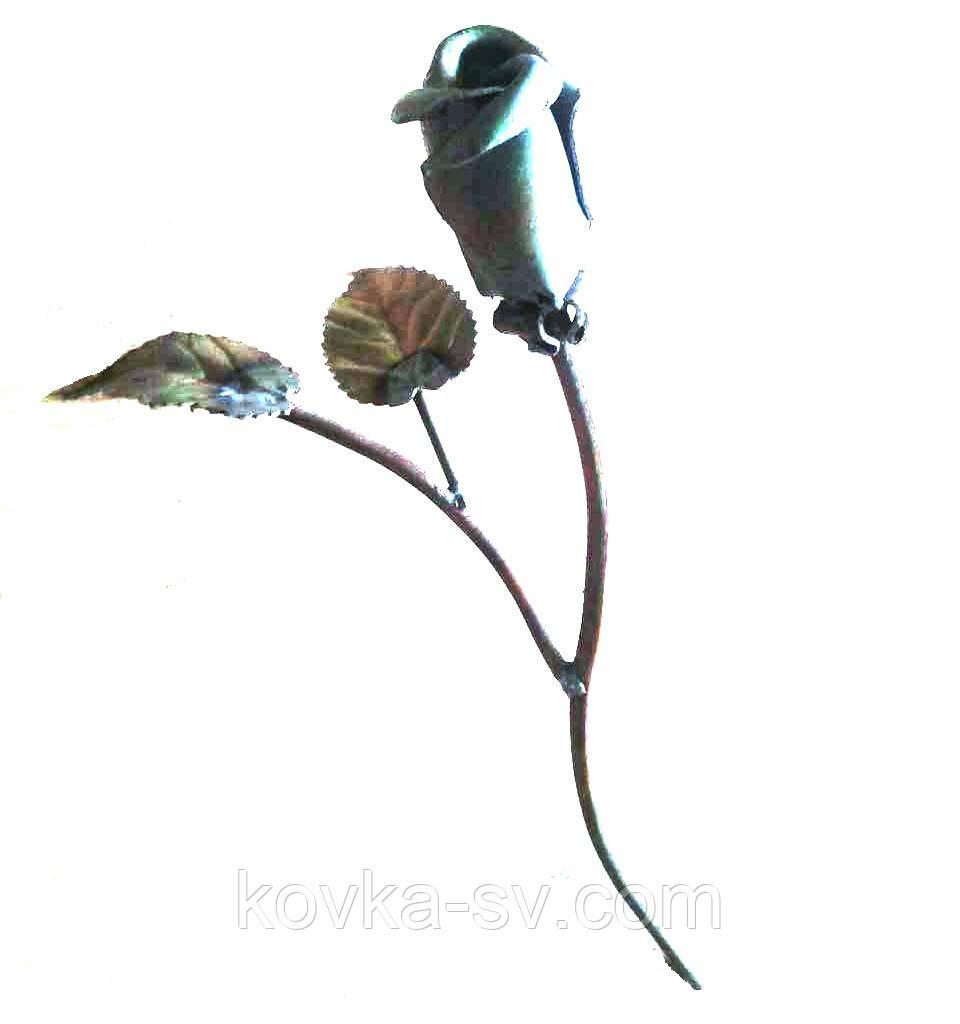 Кованая роза 240х140