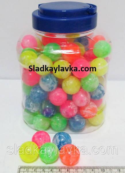 Мяч прыгун цветной средний  60 шт (Китай)
