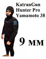 Зимний гидрокостюм для подводной охоты KatranGun Hunter Pro Yamamoto 38; толщина 9 мм