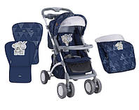 Детская прогулочная коляска Bertoni Apollo Dark blue friends