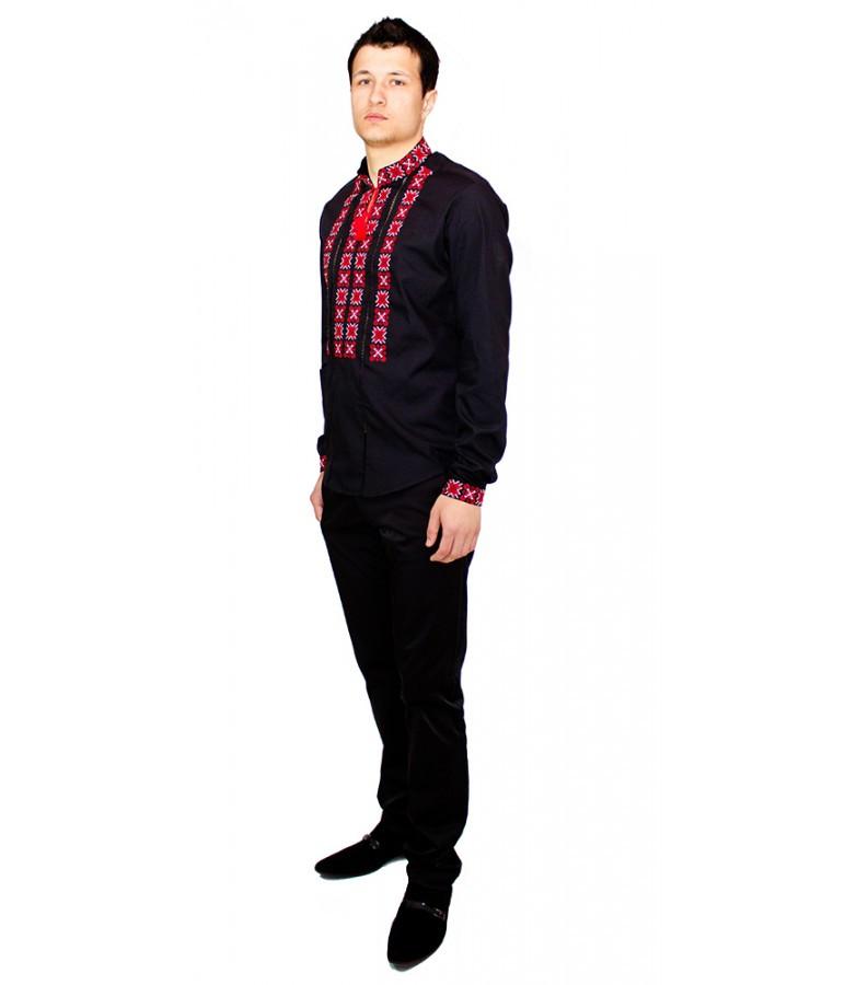 Вишиті сорочки. Чорна вишита сорочка. Чоловіча вишиванка. Сорочки ... c99263a2dad11