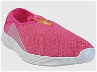 Детские спортивные текстильные кроссовки розовые для девочки VITALIYA, размеры 28-36