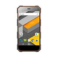 "Водонепроницаемый смартфон Sigma Х-treme PQ24 5"" 1/8Gb чёрно-оранжевый"