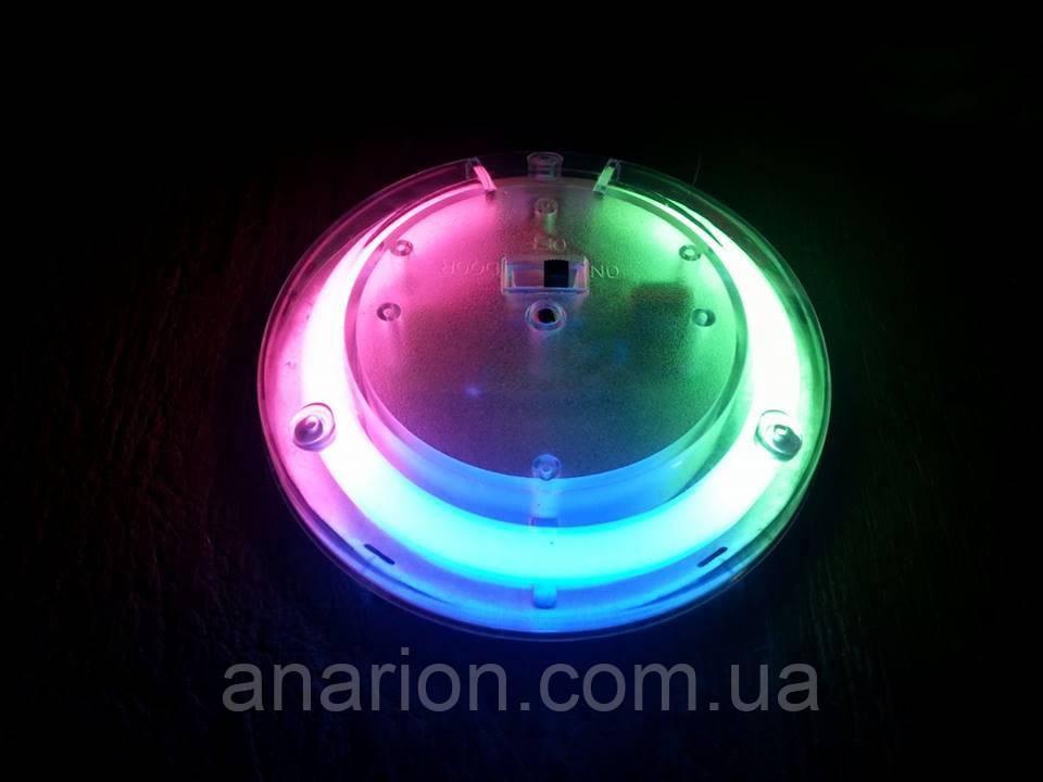 Подсветка салона №4116 трех-цветная.