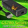 GS280 – серия мощных экономичных сетевых адаптеров от Mean Well