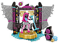 "Мега блокс музыкальный ""Cцена и Кэтти Нуар"" Monster High Catty Noir Stage Building Set"