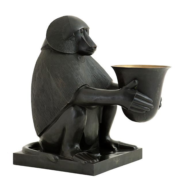 Art Deco Monkey