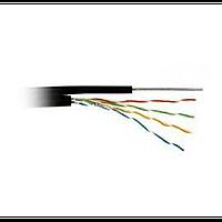 Кабель atcom premium utp lan cable cat5e внешн с тросом cu (11952)