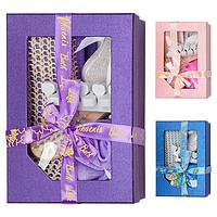 Набор подарочный банный в коробке, 6 предметов