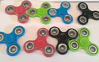 Спиннер 12-19 цветной пластик +3 подшипника, игрушка антистресс (крутилка для рук) ящ110
