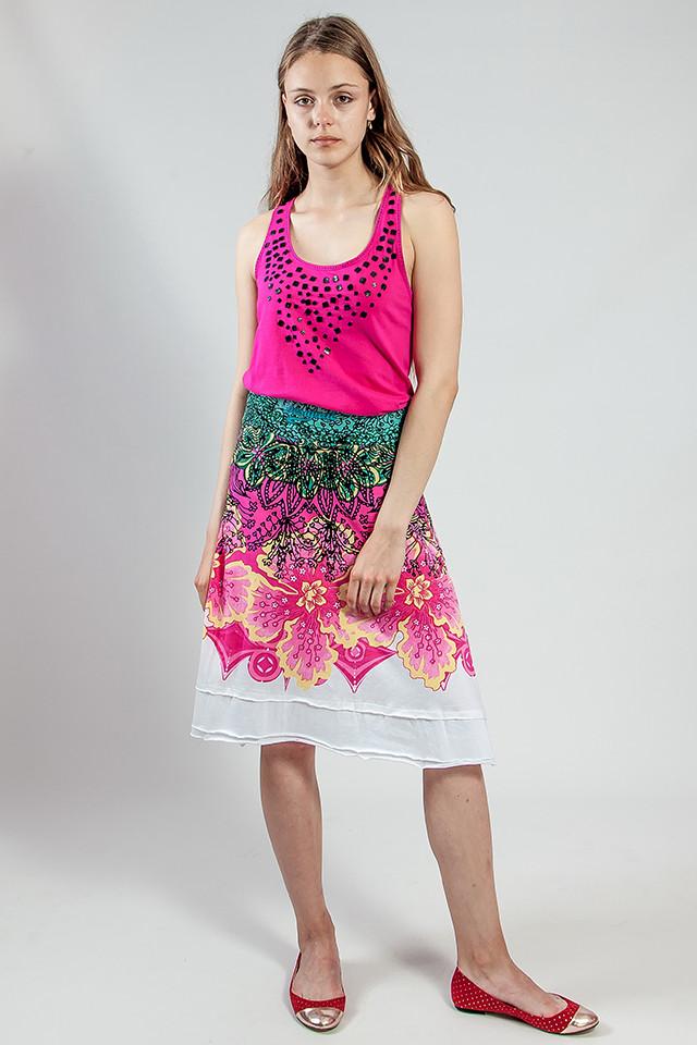Юбка женская  цветная  летняя  Desigual