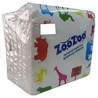 "Салфетки бумажные ""ZooZoo"" 100 штук"