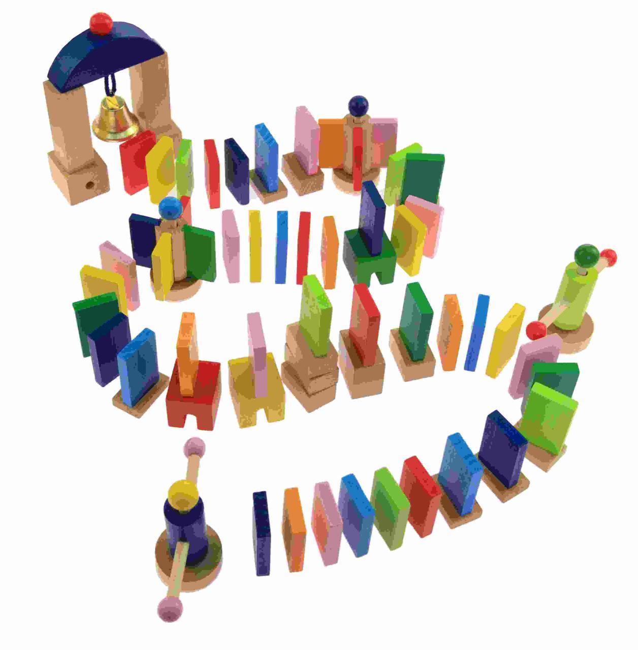 Goki Настольная игра Разноцветное домино 58963