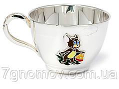 Чашка серебряная детская Джерри