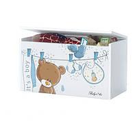 Ящик для игрушек Постираный Мишка Baby Boo 100066