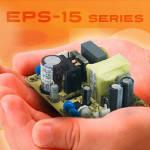 EPS-15 – серия миниатюрных источников питания от Mean Well