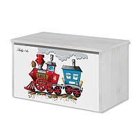 Ящик для игрушек Паровоз Baby Boo 100069