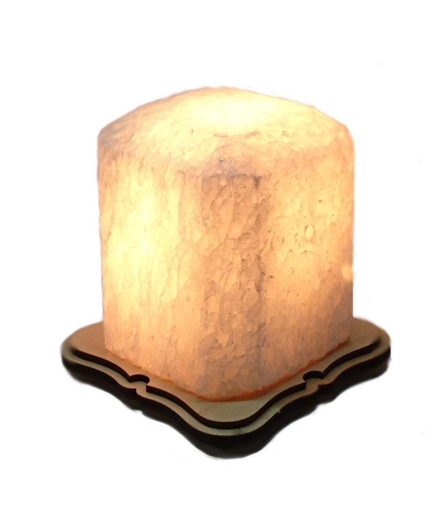 Соляной светильник Восьмигранник маленький