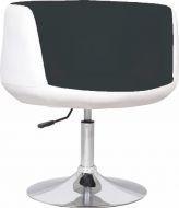 Барное кресло Яффо Group SDM черно-белый